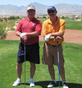 bob-Dano Golfing