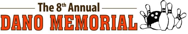 Dano Memorial Logo - Bowling